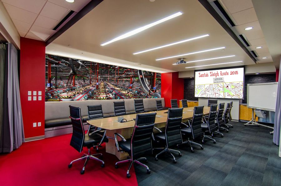 CCS recently completes Santa's Executive Conference Room